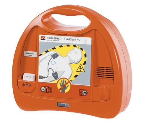 HeartSave AS Defibrillator Vollautomat
